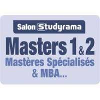 logo Salon Studyrama des Masters 2, Mastères Spécialisés & Mba - Paris
