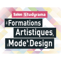 logo Salon Studyrama des Formations Art - Mode - Design et luxe - Nantes