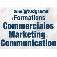 logo Salon Studyrama des Formations Commerciales / Marketing & Communication - Paris