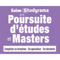 logo Salon Studyrama de La Poursuite D'etudes et Masters - Lyon