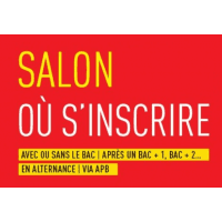 logo Salon - où S'inscrire  avec ou sans le bac