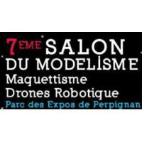 logo Salon Du Modélisme, Maquettisme, Drones Et Robotique Perpignan