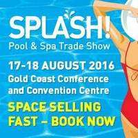 logo SPLASH! Pool & Spa Trade Show