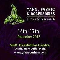 logo YFA - Yarn, fabrics and accessories Exhibition