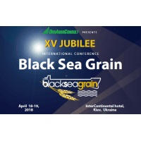 "logo XV International Conference  ""BLACK SEA GRAIN-2018: Moving Up the Value Chain"""