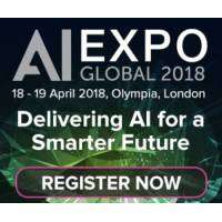 logo Artificial Intelligence Conference Exhibition Olympia London April 2018