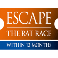 logo Escape the Rat Race Meetup Event [#ETRR31]: Ideas + Action = Results
