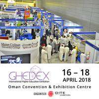logo GHEDEX – Global Higher Education Exhibition Oman 2018
