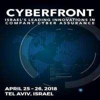 logo CyberFront Conference, Tel Aviv April 2018