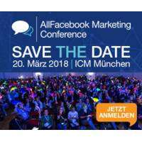 logo AllFacebook Marketing Conference - Munich 2018