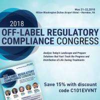 logo 2018 Off-Label Regulatory Compliance Congress