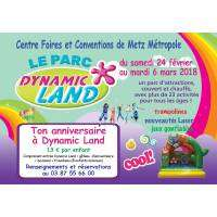 logo Dynamic Land : Parc d'attraction indoor
