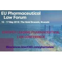logo 2018 EU Pharmaceutical Law Forum, Brussels