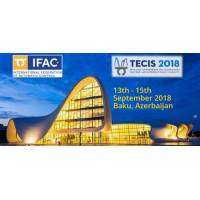 logo 18th IFAC conference TECIS 2018 (Technology, Culture and int. Stability)