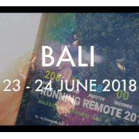 logo Running Remote 2018 - 1st live Remote Work Conference in Bali - June 2018