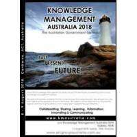 logo CANBERRA: Knowledge Management Australia 2018, Past Present Future