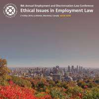 logo IBA Annual Employment and Discrimination Law Conference Montreal 2018
