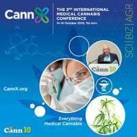 logo CannX 2018: 3rd International Medical Cannabis Conference