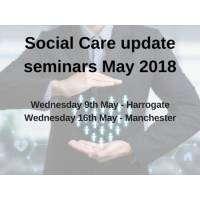 logo Social Care update seminars May 2018