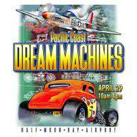 logo 28th Pacific Coast Dream Machines Show, The Coolest Show on Earth
