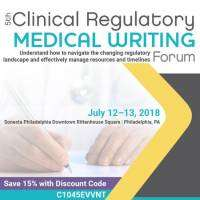 logo 5th Clinical Regulatory Medical Writing Forum