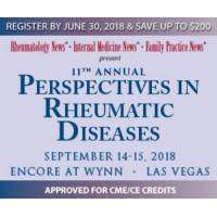 logo 11th Annual Perspectives in Rheumatic Diseases Conference