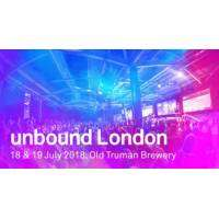 logo unbound London 2018: Tech Innovation Conference on 18 and 19 July 2018