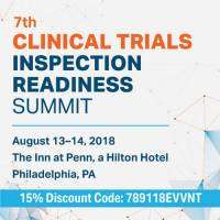 logo 7th Clinical Trials Inspection Readiness Summit