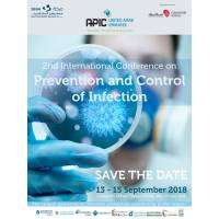 logo 2nd International Conference on Prevention and Control of Infection