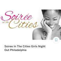 logo Soiree In The Cities Girls Night Out Philadelphia
