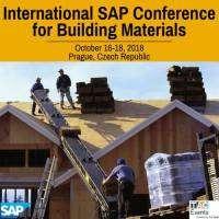 logo International SAP Conference for Building Materials, Prague, 2018