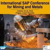 logo International SAP Conference for Mining and Metals, Prague, 2018