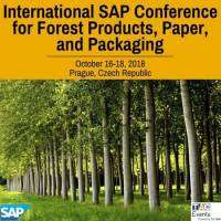 logo International SAP Conference for Forest Products, Paper and Packaging, Prague
