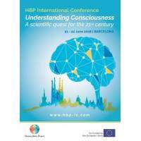 """logo HBP's first large international conference """"Understanding of consciousness"""""""