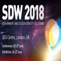 logo SDW 2018 - The Government Identity Solutions Event, 25-27 June, London