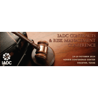 IADC Contracts & Risk Management Conference cover