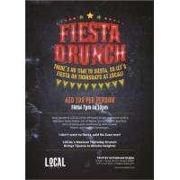 Fiesta Drunch every Thursday @ Local Social Kitchen and Bar in Tecom,Dubai. cover