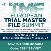 logo 7th European Trial Master File Summit