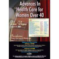logo Advances in Health Care for Women Over 40 Conference