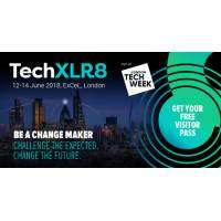 logo TechXLR8 2018 | 12 - 14 June | ExCeL, London