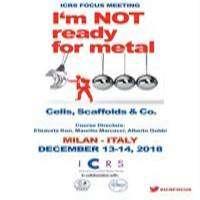 logo ICRS Focus Meeting, Milan 2018 - I am Not Ready for Metal