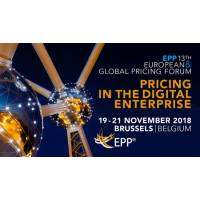 logo 13th EPP European and Global Pricing Forum, 2018 Brussels