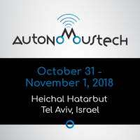 logo AutonomousTech Conference and Exhibition, Tel Aviv 2018