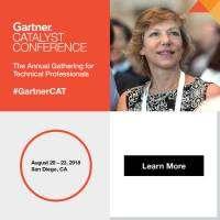 logo Gartner Catalyst Conference 2018, August 20-23, San Diego, CA