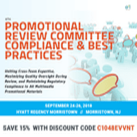 logo 6th Promotional Review Committee Compliance and Best Practices