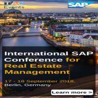 logo International SAP Conference for Real Estate Management