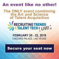 logo Recruiting Trends and Talent Tech LIVE! 2019