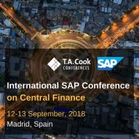 logo International SAP Conference on Central Finance, Madrid, September, 2018