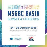 logo Oil and Gas Council, MSGBC Basin Summit and Exhibition, Dakar 2018