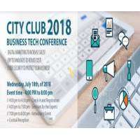 logo 2018 Annual City Club Business Tech Conference and Expo
